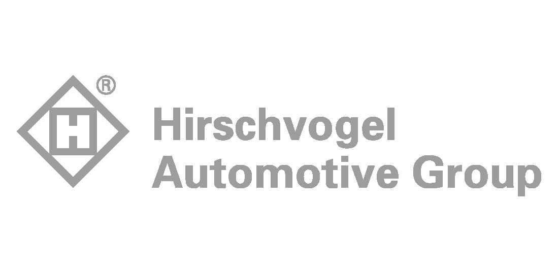 Auf diesem Bild ist das Logo der Hirschvogel Automotive Group zu sehen