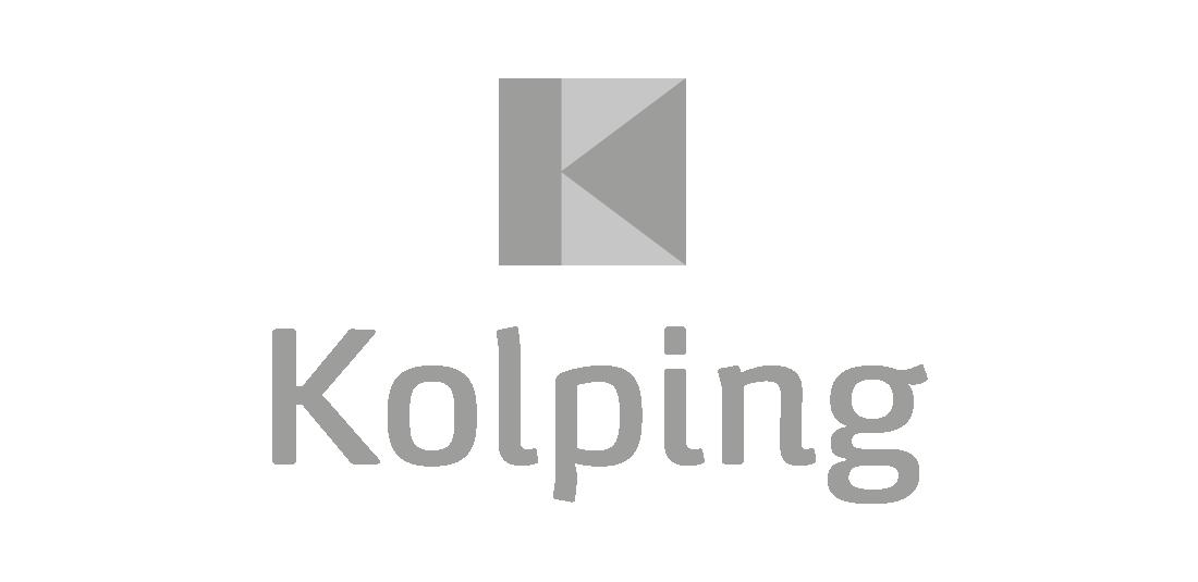 Auf diesem Bild ist das Logo von Kolping zu sehen