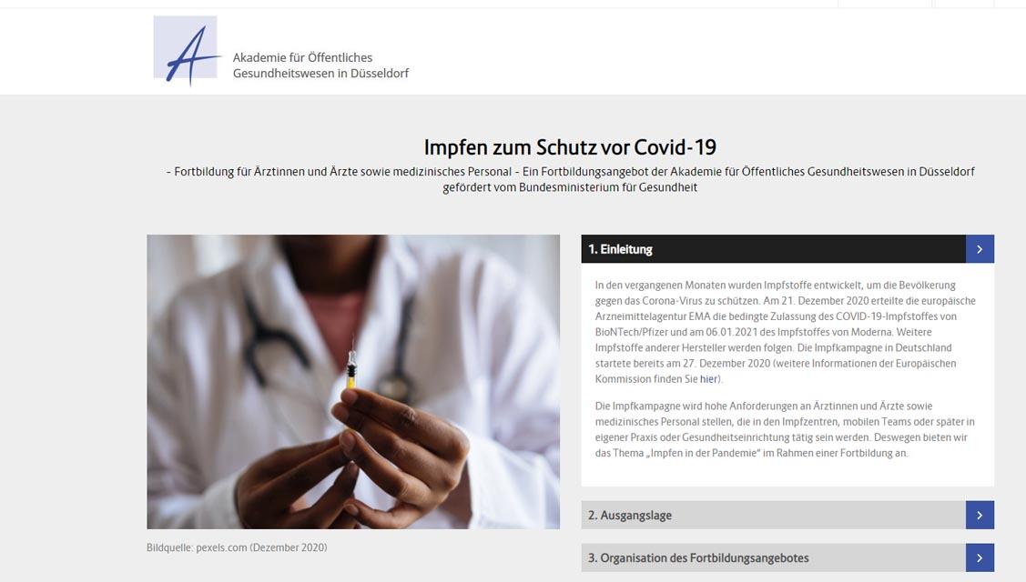 Akademie für Öffentliches Gesundheitswesen in Düsseldorf