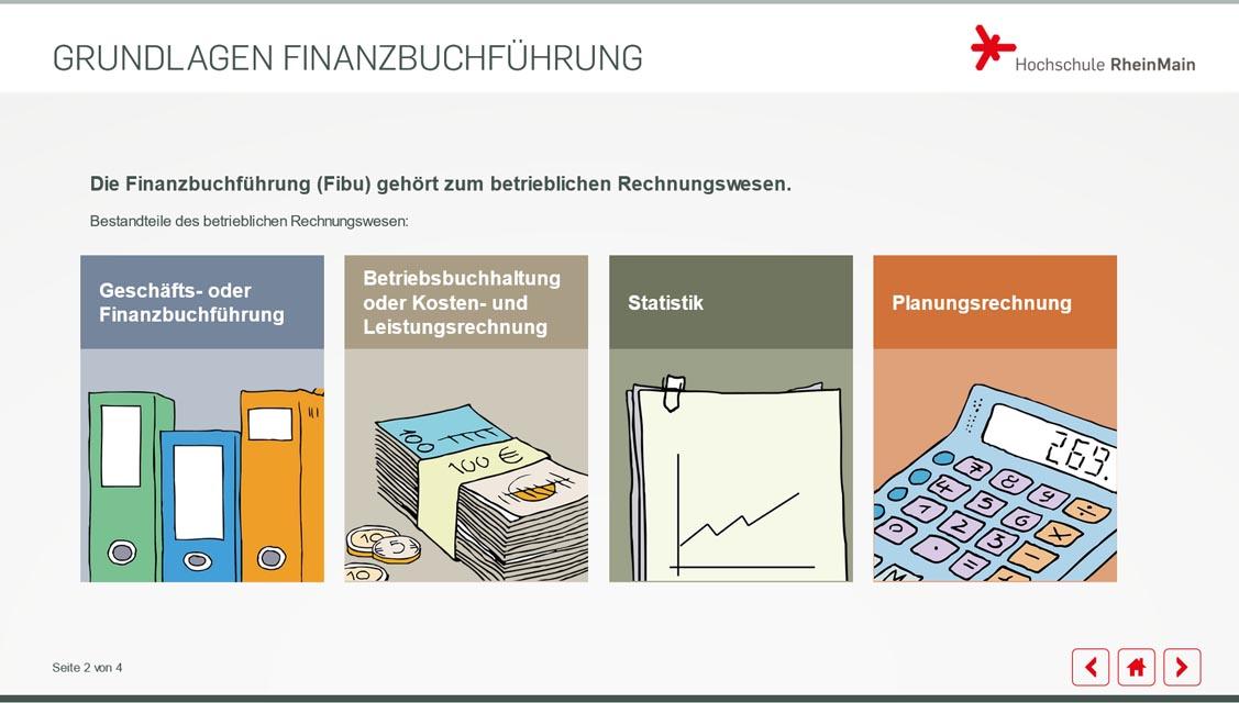 Referenzbeispiel der Hochschule RheinMain