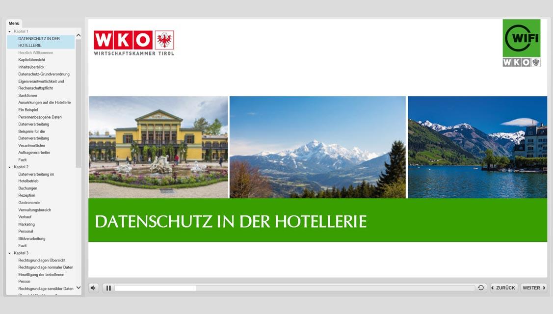 Referenzbeispiel Wirtschaftskammer Tirol